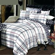 tartan gray plaid comforter cuddl duds grey bedding bed sheets