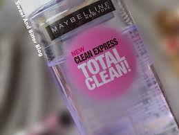 new maybelline clean express total clean eye and lip makeup remover review