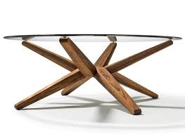 Round Wood And Glass Coffee Table Jerichomafjarproject Perfectly Regarding  Round Glass And Wood Coffee Tables (