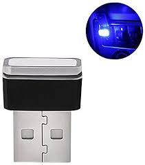 WooyMo <b>Car USB Atmosphere</b> Light for Decoration (Blue): Amazon ...