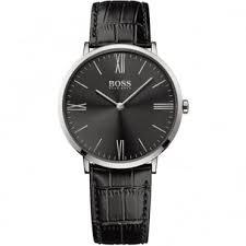 ultra thin watches buy slim watches british watch company men s jackson black leather strap watch