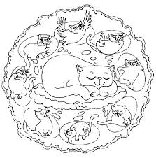 Small Picture Animal Mandala Coloring Pages 691 Bestofcoloringcom