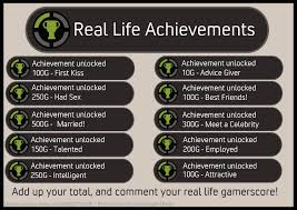 Real Life Achievements | Fake XBOX 360 Achievements | Know Your Meme via Relatably.com