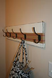 Decorations:DIY Twig Coat Rack Hanging Idea Traditional Wall Hooks For Pots  And Pans Idea