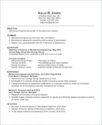 Engineering Internship Resume Sample Unique Mechanical Engineering Resume Objective Chemical Eering Resume