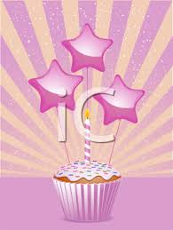 Royalty Free Clipart Image Of A Birthday Cupcake 432269 Iclipartcom