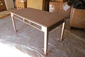 gold painted furnitureDIY Friday Metallic Makeover  Painted Desk Tutorial