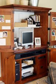 home office in a box. i want to do this in our bedroom so that the computeroffice stuff can be hiddenu2026 home office a box