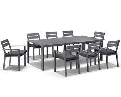outdoor furniture white. Aluminium Dining Outdoor Furniture White