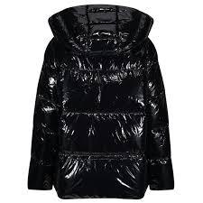 Tommy Hilfiger Palmer Glossy Womens Jacket Meteorite