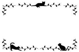 フレーム枠猫のイラスト無料素材おすすめ じゃぱねすくライフ