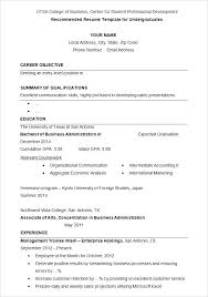 Resume Samples Format Simple Format Sample Resume Format Doc File