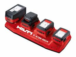 hilti hand tools. hilti battery packs and multi-bay charger hand tools r