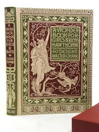 photo of a wonder book for s boys written by hawthorne nathaniel ilrated by
