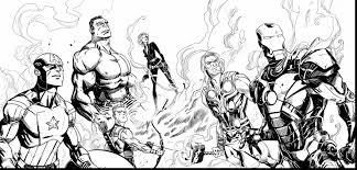 Small Picture Marvel Avengers Coloring Pages Marvels The Avengers Coloring Pages
