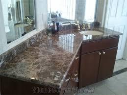 emperador dark marble bathroom countertops turkey brown marble vanity top