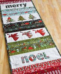 Christmas Table Runner Patterns Stunning Quilted Christmas Table Runner The Seasoned Homemaker
