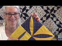 How to Make a Folded Quilt Block - YouTube & How to Make a Folded Quilt Block Adamdwight.com