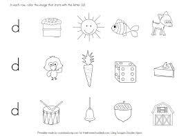 FREE LETTER D WORKSHEETS (Instant Download) | Free Homeschool Deals ©