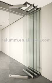 foldable glass wall glass partition