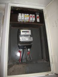 replace old fuse box consumer unit electrical job in photographs