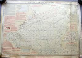 Details About Antique Nautical Maritime Pilot Chart Notrh Atlantic Ocean 1914 Us Navy