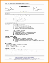 Resume Format For Computer Operator Job Resume Template Easy