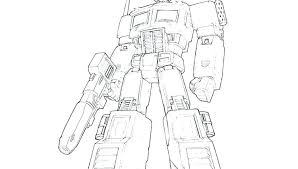 Transformers Optimus Prime Coloring Pages Transformers The Last