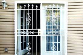 glass security door iron glass doors security door for sliding patio door image of iron security doors for sliding glass security door