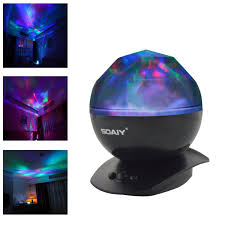 Soaiy Night Light Projector Soaiy Color Changing Led Night Light Lamp Realistic