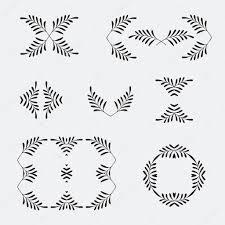 Scroll Designs Templates Elegant Ornate Floral Design