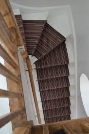 ... Carpet Runner Striped Graphite Black Metal Stair Rods And Carpet White  Wooden Steps Cut Runners For ...