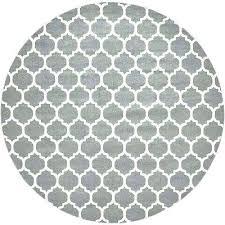 grey and white round rug white round rug trellis dark gray ft 2 in x ft