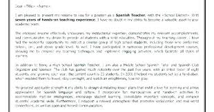 Cover Letter For Teaching Assistant Cover Letter For Spanish Teacher Cover Letter Teacher Tutor Cover