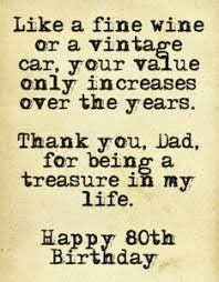 Quotes 80th birthday