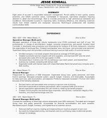 Catering Manager Resume Restaurant Manager Resume Sample Hotel