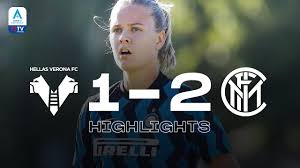 HELLAS VERONA 1-2 INTER WOMEN | INTER WOMEN HIGHLIGHTS | 20/21 Serie A  Femminile 👍🏻⚫🔵 - YouTube