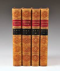 critical and historical essays by lord macaulay leather bound  critical and historical essays by lord macaulay leather bound books 4 vols 1885