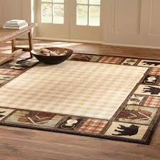 area rug mountain top beige 8 ft x 10 ft area rug