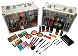shany cameo cosmetics carry all trunk makeup kit