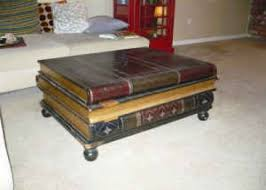 book coffee table furniture. coffee table that looks like a stack of leatherbound books 300 huntington beach book furniture e