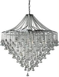 dorchester large polished chrome 7 light modern crystal chandelier