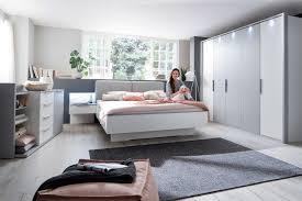 Colina Casada Schlafzimmer Set 4 Teilig Weiß Grau Möbel Letz