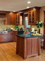 Arts & Crafts Kitchen with Ellsworth Door - craftsman - kitchen - new york  - Crown Point Cabinetry