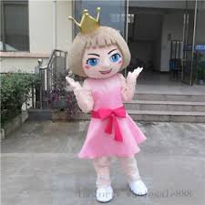 Mascot Size Chart Princess Mascot Costume Suits Birthday Party Game Adults