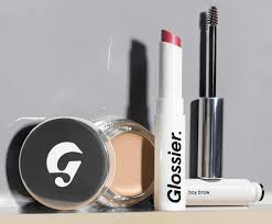 four make up s from glossier