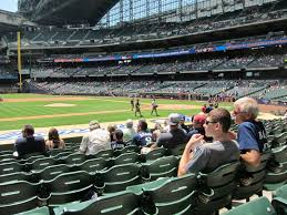 Best Seats For Great Views Of The Field At Miller Park