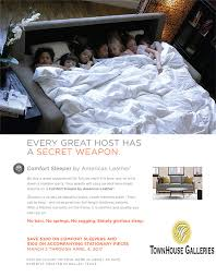 comfort sleeper brochure