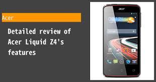 Acer Liquid Z4 Review
