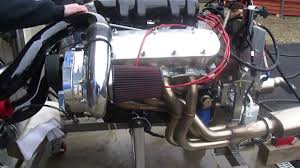 Supercharged Chevy BB ZZ502 Ramjet Engine Run - YouTube